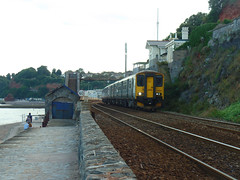 150232 & 150238 Dawlish (4) (Marky7890) Tags: gwr 150232 150238 class150 sprinter 2e47 dawlish railway devon rivieraline train
