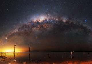 Milky Way at Lake Ninan - Wongan Hills, Western Australia