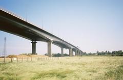 fullsizeoutput_26cf (knautia) Tags: m5 motorway pill northsomerset england uk august 2018 bridge pillforeshore film ishootfilm olympus xa2 olympusxa2 nxa2roll53 heatwave 160iso kodak portra