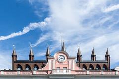 Rathausuhr in Rostock (Sylsine) Tags: accessoires architektur bauwerke gebäude rathaus rathausuhr rostock uhr
