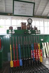 Photo of The Lever frame, Bideford SB