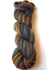 if biab7 gct skein1 (thing4string) Tags: spin spinning handspinning handspun yarn wool polwarth manxloaghtan silk firestar chainply inglenookfibers fingering nylon