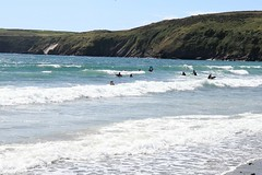 Aberdaron beach (etriznova) Tags: wales wate sea beach waves