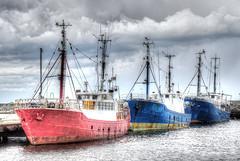 Fischerboote in Sassnitz / Rügen (HDRforEver) Tags: hdr photomatix clouds sky sea harbor hafen karsten höltkemeier rügen sassnitz mecklenburgvorpommern canon 600d new interesting port boat fischerboote no storm sturm