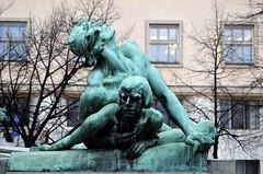 Prag - Denkmäler & Skulpturen - 5 (fotomänni) Tags: denkmal statue skulptur skulpturen sculpture prag praha prague manfredweis