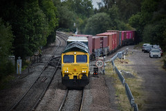 66534 (Lewis_Hurley) Tags: ooclexpress junction stensonjunction stenson staffordshire england uk containers diesel freight intermodal freightliner fred shed 66534 class66 66