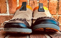 Some of my most favorite shoes ever . . . . #crocs #canvasshoes #comfy #comfortable #foot #feet #weekend #friday #creative #ifttt (cory.threatt) Tags: ifttt instagram corythreatt photograph music art empath musician photography nature cat food foodie