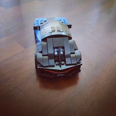 Lego Speed Champions Bugatti Chiron 8 stud wide (4) (Parm Brick) Tags: lego speed champions bugatti chiron vehicle super car moc mod afol 8studwide