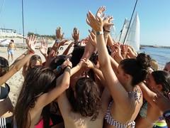Campamento de verano nautico (hotelplayaoliva) Tags: playa sol verano valencia oliva surf campamento campamentos