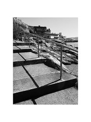 seaside shadows (chrisinplymouth) Tags: black white monochrome steps staircase ralings seaside shadows hoe plymouth devon england city xg wb