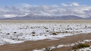 wonderful winter landscape in Imata Peru 2018
