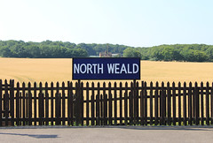 North Weald station, Station Road, North Weald, CM16 (Tetramesh) Tags: tetramesh london england britain greatbritain gb unitedkingdom uk localhistory lostlondon oldlondon londonpast socialhistory uklocalhistory londonlocalhistory transporthistory londonunderground londontransport tube thetube metro eppingongarrailway essex