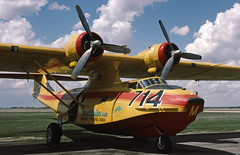 C-FPQM Consolidated Vultee PBY-5A Catalina Buffalo Airways (ChrisChen76) Tags: reddeer consolidatedvulteepby5acatalina buffaloairways canada
