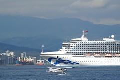 DSC_2854_001_ (wfung99_2000) Tags: starprincess alaska cruise ship portofvancouver vancouver canadaplace canada britishcolumbia seaplane float plane beaver dehavilland dhc2 harbor innerharbour