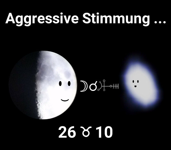 Mond Konjunktion Algol