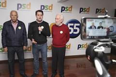 Anúncio dos candidatos a vice-governador, Darci Piana e ao senado, Oriovisto Guimarães