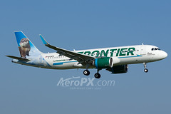 Frontier Airlines Airbus A320-251N - N336FR (AeroPX) Tags: aeropx airbusa320 airbusa320neo caryliao ewing frontierairlines kttn n336fr nj newjersey rosietheriverotter ttn trentonmercercountyairport httpaeropxcom httpcaryliaocom