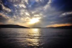 & volupté. (G.Billon) Tags: gbillon nikond90 nikon croatia croatie sailing adriatique océan landscape sunset clouds groupenuagesetciel