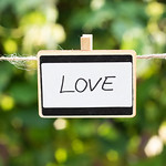 Love written on a plate thumbnail