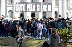 Luto pela Ciência (ufpr) Tags: ufpr luto pela ciência manifestação