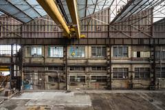 Shed (burton_michel) Tags: shed leica summilux urban exploration industrie industriel urbex abandoned abandonné mur palan