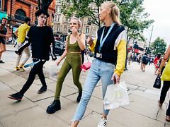 Oxford Street. 20180811T13-45-29Z-P8110337 (fitzrovialitter) Tags: girl portrait streetportrait candid peterfoster fitzrovialitter city camden westminster streets rubbish litter dumping flytipping trash garbage urban street environment london fitzrovia streetphotography documentary authenticstreet reportage photojournalism editorial captureone olympusem1markii mzuiko 1240mmpro microfourthirds mft m43 μ43 μft geotagged oitrack facialpiercings three pavement youngpeople laughing