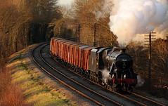 GCR 71499cr (kgvuk) Tags: gcr greatcentralrailway swithland swithlandreservoir railway train steamtrain locomotive steamlocomotive steamengine 48624 8f 280 kinchleylane