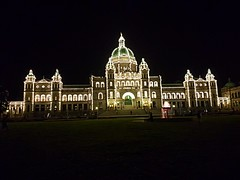 The Parliament Buildings at night (walneylad) Tags: victoria britishcolumbia canada august summer view scenery nature
