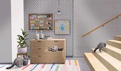 snap339 (Ella SL) Tags: secondlife decor raccoon dresser