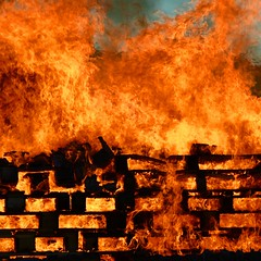 Midsummer bonfire (mikael_on_flickr) Tags: midsummer midsommer sankthans bonfire bål tórshavn færøerne føroyer faroeislands