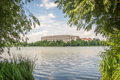 Coliseum (stevefge) Tags: 2018 deutschland duitsland germany kongresshalle nuremberg wwii landscape reflectyourworld water