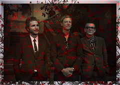 Interpol (oscarinn) Tags: interpol mexico mexicocity rock indie paulbanks danielkessler samfogarino texture red black frame branches portrait music maker