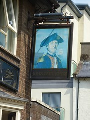 Pub Sign - John Paul Jones, Duke Street, Whitehaven 180526 (maljoe) Tags: pubsigns pubsign inn inns publichouse pub pubs tavern taverns whitehaven