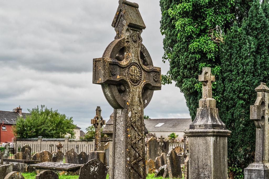 OLD CHURCHYARD KNOWN AS ST. JOHN'S [DUBLIN ROAD KILKENNY]-142929