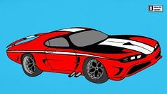 ranger gs2 (Khaled Fahmy : Auto design) Tags: 2017 2018 2019 supercars hypercars ferrari laferrari 458 488 gtb p4 lamborghini countach aventador sv miura reventon veneno bugatti veyron pagani huayra zonda porsche carrera 918 917 vector w2 w8 corvette stingray 2016 mustang ford gt kyosho auto art minichamps 118 diecast delahaye delage osten jaguar mclaren m20 can am p1 f1 designer blueprint drawings blue print bertone pininfarina centenario mercedes amg red bull x2010