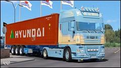 "DAF XF 105 ""M. de Witte"" (Bepreeh) Tags: ets ets2 euro truck simulator 2 daf xf 105 de witte"