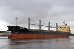 S-Bronco. Tyne 210818 (silvermop) Tags: ship boats ships sea bulkcarriers bulkers port river tyne sbronco