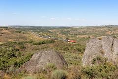 Medway Internacional nº 42803 em Trajinha (João Pagaimo) Tags: medway linhadabeiraalta cp4700 portugal railway ferrovia freight mercadorias megacombi ikea alfarelos vilarformoso constantí