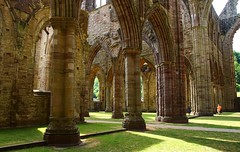 InsideTintern Abbey (Eddie Crutchley) Tags: europe uk wales tintern abbey historicbuilding church ruins architecture beauty simplysuperb building tinternabbey greatphotographers