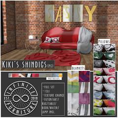 INFINITE - Kiki's Sassy Shindigs @ PocketShop! (Divine Falodir (Infinite)) Tags: sassy furniture second life futon mesh couch lip secret free debut pocketshop skybox tasty mean girls beyonce other fabulous things
