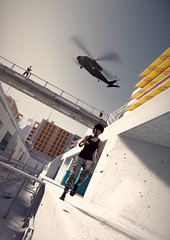 police on my back (Rakkhive) Tags: mirrorsedge parkour faith rooftops skyscrapper buildings glass architecture screenshots gamephotography screenarchery gedosato