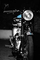 Triumph Bonneville 1 (psychosteve-2) Tags: triumph bonneville motor cycle old bike vintage