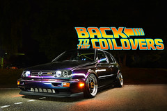 Lets get back to the 90's (> Mr.D Photography) Tags: vw golf 3 lightpainting 90s volkswagen chameleon paint purple green blue coilovers lowered car tuning bags for groceries back future style nikon d7100 tokina 1224mm f4 vanguard cth480 long exposures yongnuo yn rf603 newell led light lamp are u9ted