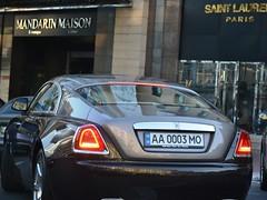 AA0003MO (Vetal_888) Tags: rollsroyce wraith licenseplates ukraine kyiv номернізнаки aa0003mo aa україна київ aamo 0003 dualtone