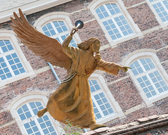 The Angel of Purification (angled) - Ghent, Belgium (bvi4092) Tags: building exterior general window nikon statue sigma belgium travel ghent architecture photoshop city europe 18250mm d300s excursion holiday outdoor outing outside sculpture trip