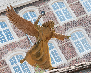The Angel of Purification (angled) - Ghent, Belgium