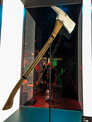 Here's Johnny('s Axe) (curious_spider) Tags: theshining axe jacktorrence ax museumofpopculture mopop seattle