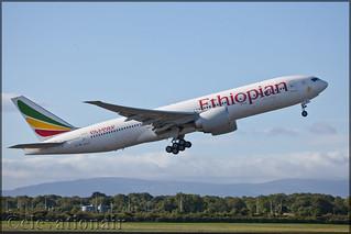 ET-AQL Boeing 777-260(LR) Ethiopian Airlines