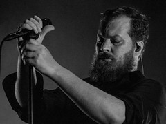John Grant (efsb) Tags: johngrant catelebon birmingham symphonyhall singersongwriter keyboards olympusstylus1