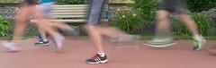 Hit The Pavement (Adam Curran) Tags: saintjohn saint john newbrunswick new brunswick nbphoto marathon runner running shoe marathonbythesea blur motion outdoor outdoors nikond3300 d3300 nikkor jogging